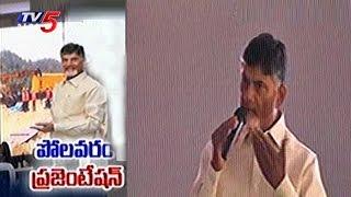 CM Chandrababu Video Presentation on Polavaram Project