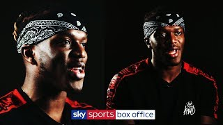 EXCLUSIVE KSI INTERVIEW! | JJ on his sparring partners, his diet & the risk to his career!