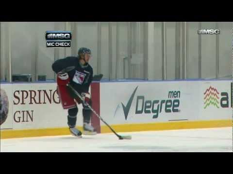 Carl Hagelin : Mic'd Up [Training Camp Day 5] 1/17/13