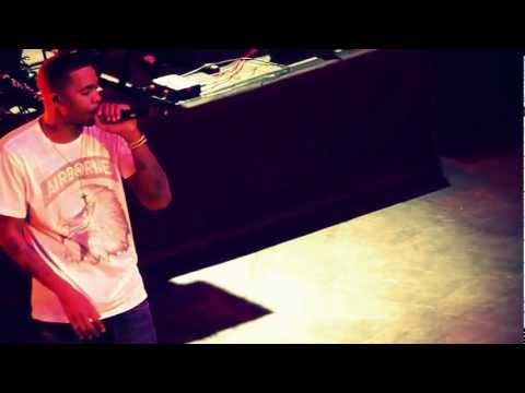 NAS - Get Down/Stillmatic/One Love/HipHop is Dead || live @ 013 || 25-03-2013