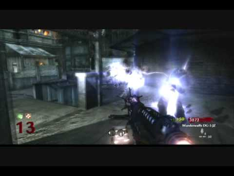Wunderwaffe DG 2 Upgrade COD nazi zombies Der Riese Map Pack 3