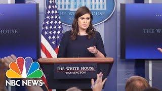 White House Briefing | NBC News