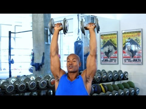 How to Do a Shoulder Press | How to Work Out at the Gym Image 1