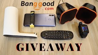 Gadgets from banggood.com | Giveaway | Tech Unboxing 🔥
