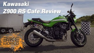 Kawasaki Z900 RS Cafe Video Review (With A Bit Of Drag)