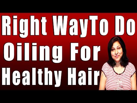 Right WayTo Do Oiling For Healthy Hair by Priyanka Photo Image Pic