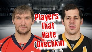 Alex Ovechkin/His Top 7 Haters