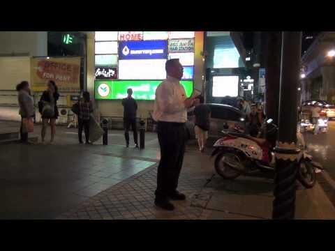 Preaching the gospel to Patpong Road (September 28, 2012)