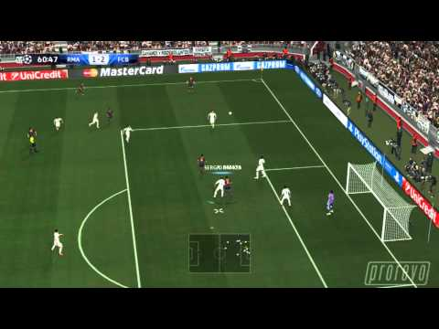 PES 2014 - Real Madrid vs. FC Barcelona 2nd half *PC - final code*