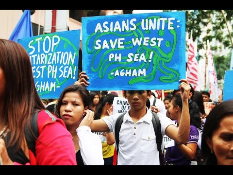 Groups hold protest at Chinese consulate in Manila