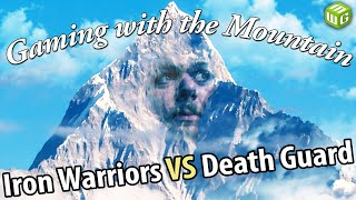 Iron Warriors vs Death Guard Horus Heresy Battle Report Gaming with the Mountain Ep 1