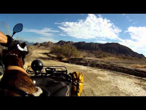 Riding Indian Trail, Terlingua, TX