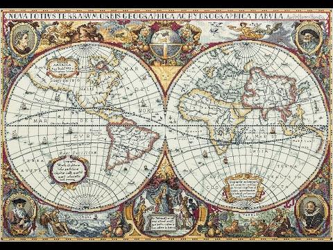 Карта мира от панны вышивка