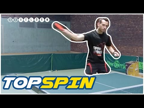 Rückhand-Topspin-Technik Im Tischtennis Theorie & Erklärung  - How To Backhand Loop Table Tennis