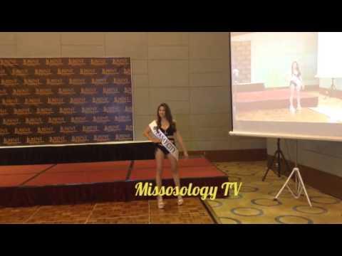 Miss Tourism Philippines 2016 Press Presentation