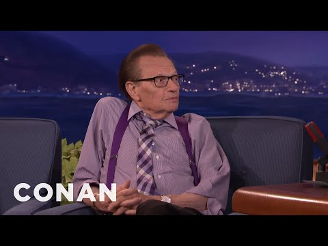 Larry King Explains The Birds & The Bees  - CONAN on TBS
