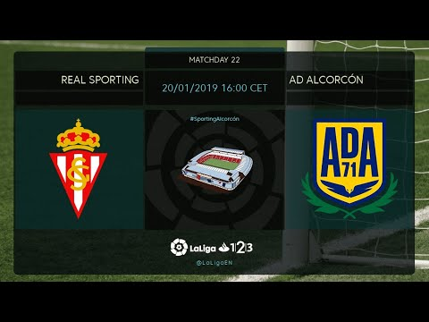 Real Sporting - AD Alcorcón MD22