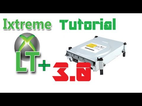 How To Flash Phat Liteon Xbox 360 Drives To iXtreme LT+ 3.0 - Windows 8 64 bit [HD] [DE] [EN CC]