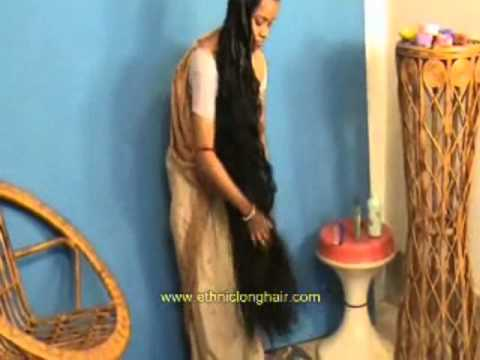 Ancient Indian Long Hair Care Tradition.... video