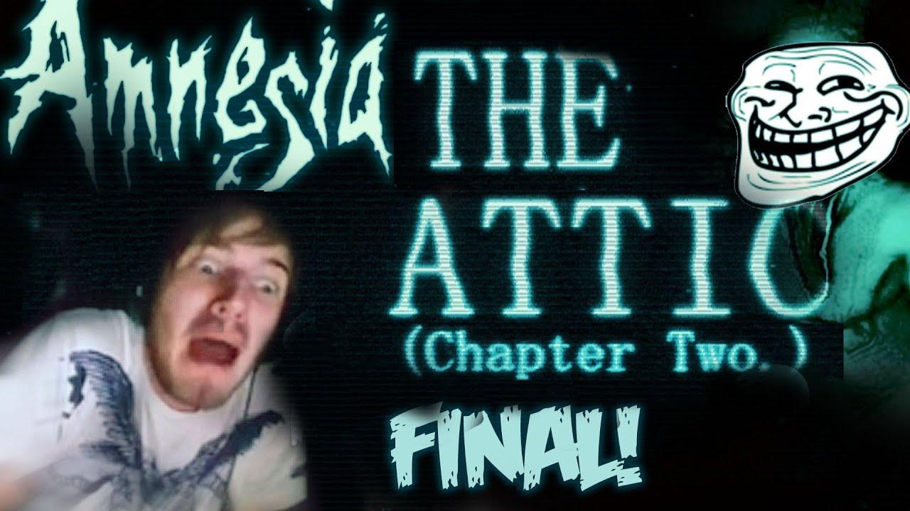 Final Amnesia Custom Story Part 3 The Attic