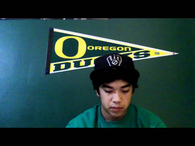 Oregon Ducks Black and Yellow Remix