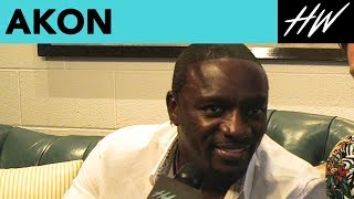 Akon Speaks About Lady Gaga, Drake, And His Efforts In Africa! | Hollywire