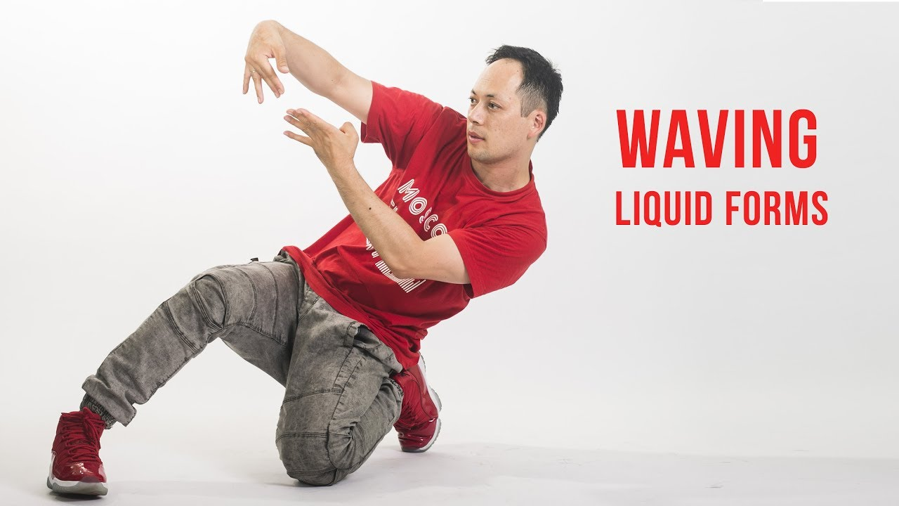 WAVING DANCE: LIQUID FORMS TUTORIAL