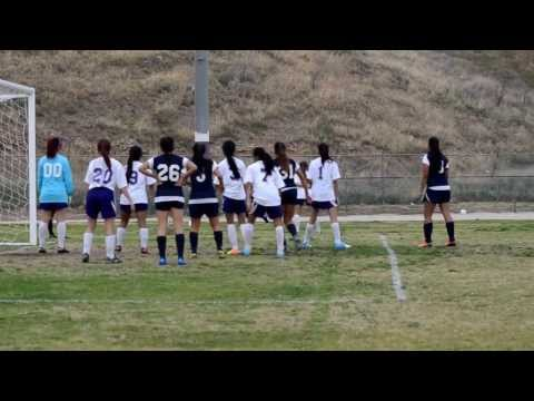 Carter versus Pacific Girls Varsity Soccer January 28, 2014