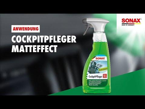 SONAX Ratgeber Innen Pfleger Matteffect GreenLemon