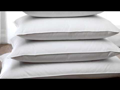 Luxury White Goose Down Pillows