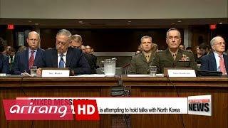 Mattis confirms U.S. seeking 'opportunities' to talk with North Korea
