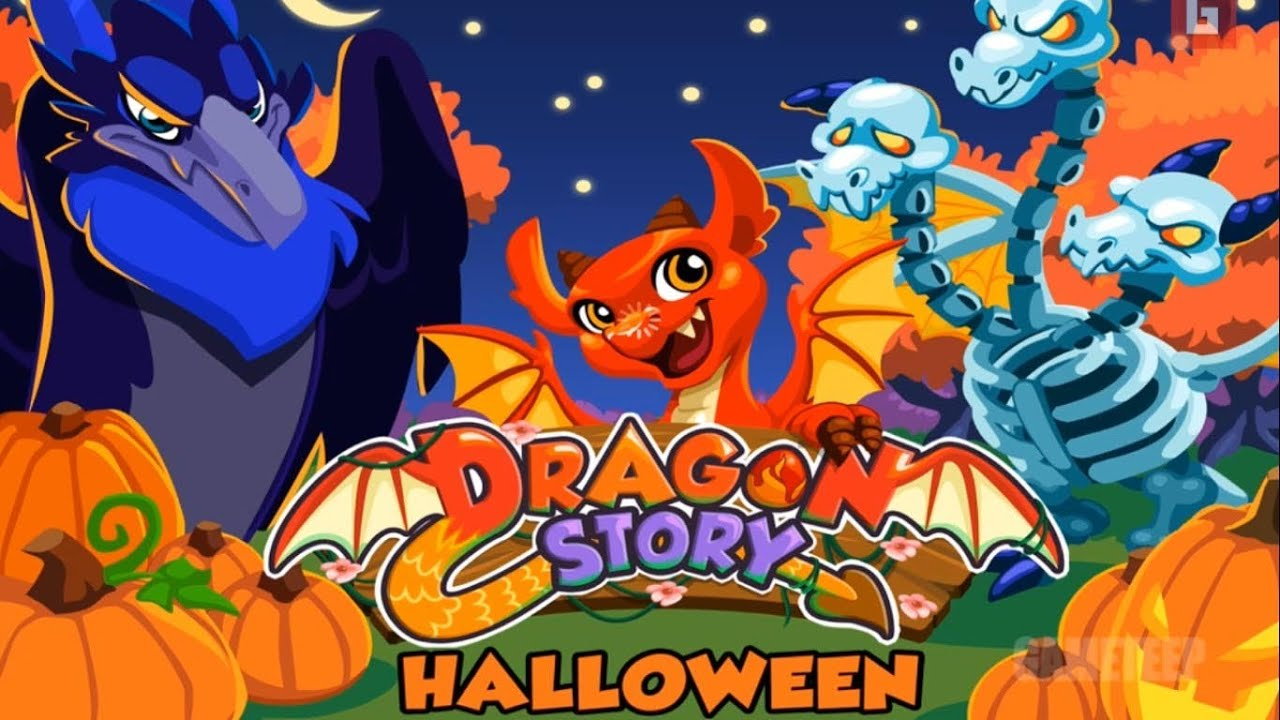 Dragon Story Social Dragon Dragon Story Halloween