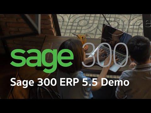 Sage Accpac ERP 5.5 Demonstration