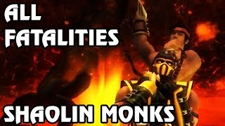 Mortal Kombat: Shaolin Monks - Fatality Demonstration (60 FPS)