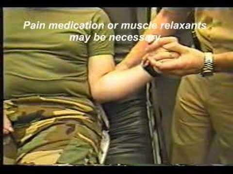 Set Shoulder Dislocation Reducing a Dislocated Shoulder
