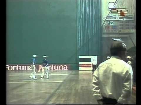 Día de la Pelota-Vasca en el frontón deportivo Bilbaino 1993