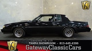 Stock #533-TPA 1987 Buick Grand National