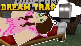 Minecraft: TRAPPED IN A DREAM! - FIND THE BUTTON EXTREME - Custom Map
