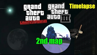 GTA 3 & LCS Android - Driving Timelapse : 2nd map + Bug