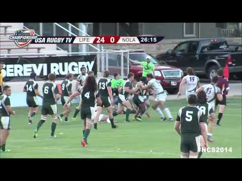 Men's Club DI Championship - Life vs. New Orleans Rugby