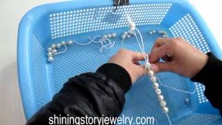 how to make pearl beads shamballa shambala macrame bracelets step to step guide