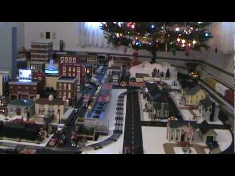 Here's a video of Lionel and MTH Electric Trains Union Pacific Heritage SD70ACe's in action around the Christmas Tree. The Union Pacific painted one locomoti...
