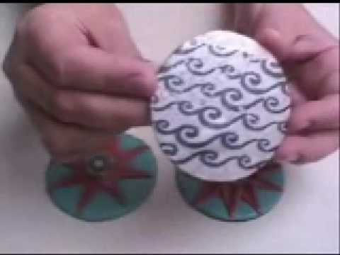 Polymer Clay TV Episode # 89 Pocket Mirrors