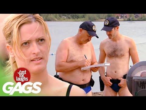 Videos de risa en la playa