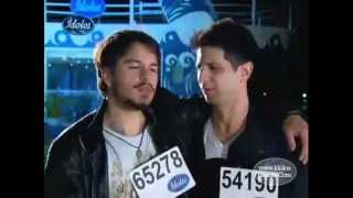 José Junior e Kim Lírio | Fase do Resort - Ídolos 2012