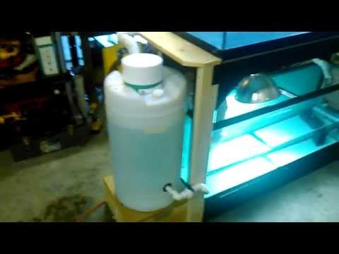 Diy Aquarium Radial Flow Settler Mechanical Filter