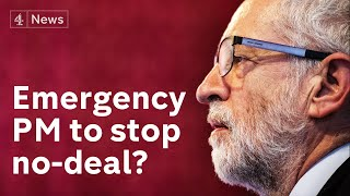 Could Corbyn lead anti-No Deal Brexit government?