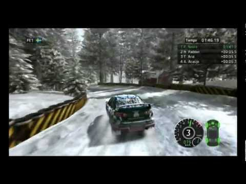 WRC - The Game Gameplay 9500gt