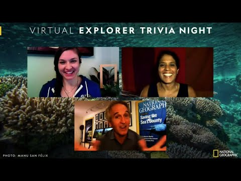 Virtual Explorer Trivia Night Feat. Brian Skerry & Asha de Vos