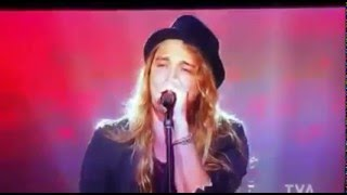 Travis cormier Dream on audition la voix 2016